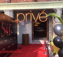 50th Birthday Bash at Prive, Calrke Quay by Impressario