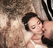 Vicole & Kevin Korean Styled Pre Wed by Xara Lee Bridal Makeup & Hairstyling