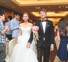 Actual Day Wedding of Kenny & Grace by Hotel Jen Tanglin, Singapore