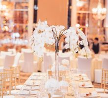 White and Gold by The Wedding Stylist