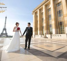 Th City of  Lights of Love by The Louvre Bridal