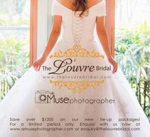 The Louvre Bridal & aMusephotographer by The Louvre Bridal
