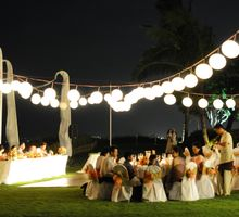 Wedding Dinner by Bali Exotic Wedding Organizer