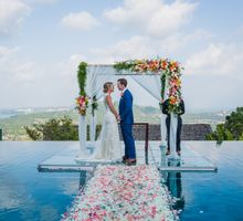 Clair & Francois wedding at Panacea Retreat Koh Samui by BLISS Events & Weddings Thailand