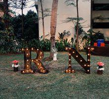 Rio & Nina's Rustic Garden Party by Klub Kelapa Gading