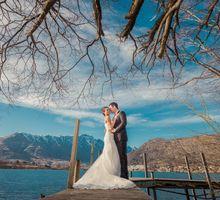 New Zealand pre wedding photography by Odelia Bridal