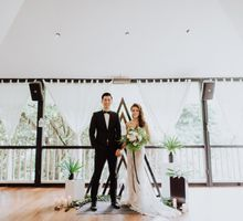 Styled Shoot with Bridestory by Amperian