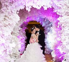 Albert & Angel Wedding Day by Lily Florist & Decoration