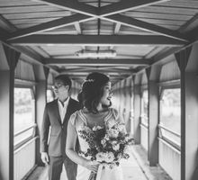 Industrial Chic Pre-wedding Shoot in Singapore by Wedrock Weddings