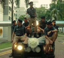 Jasper & Angelina  Vintage Police Themed Wedding by 48kgProduction