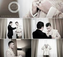 the wedding of Vicky & Satriyo by maleeka organizer