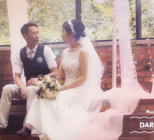 Garden Wedding // Glasshouse by Filming Art Cinematography