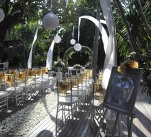 Cory & Paul Wedding - Main Pool Deck Area by Peppers Seminyak