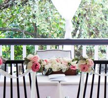 Garden Rustic Wedding by AROF (A ROOMFUL OF FLOWERS)