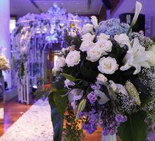 Romantic Blue light Wedding by Jonquilla Decor