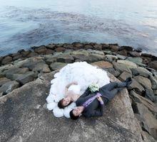 Beach Theme Pre-Wedding Shoot by Memoire & Co