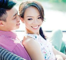 Pre Wedding Shoot ♥Daryl & Iris by Gin Tan makeup artist