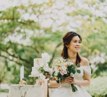 Beauty and the Beast (Garden wedding) by Baby Cakes