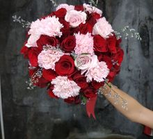 Wedding Decoration N Handbouquet by nanami florist