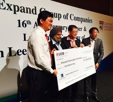 VON LEE YONG MIANG BURSARY FUND & EXPAND GROUP OF COMPANIES CELEBRATING ITS 16TH ANNIVERSARY by Conrad Centennial Singapore