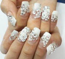 Wedding Nails Portfolio by felizenailart