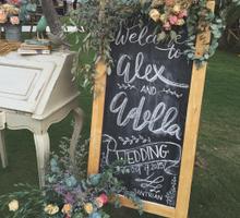 Alex Dela Wedding by cosa design & decor