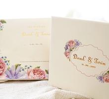 Floral Soft Pink Design by Memoir card