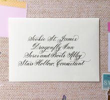 Calligraphy ••• Envelope Addressing by Lemonpassion Calligraphy