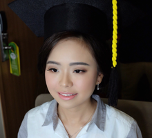 Graduation Makeup of Ms. cathleen  by Chrestella Lorita MUA