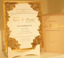 Lasercut Rustic Design by Memoir card
