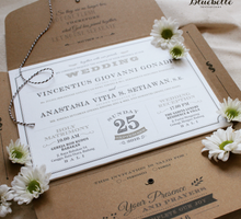 Vincent & Vitia Rustic wedding by Bali Eve Wedding & Event Planner