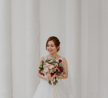 Edward + Christa - actual day wedding  by The Style Atelier Singapore