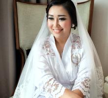 Wedding Makeup for Frando & Novi ❤️ by Celeste