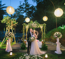 Beautiful Intimate Wedding in Ubud, Bali by AKIphotograph