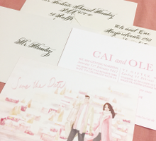 O&C ••• Calligraphed Envelopes by PapyPress