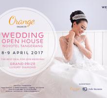 Visit us at wedding open house Novotel Tangerang by Orange Organizer