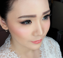 Beautiful Bride Jessica  by Chrestella Lorita MUA