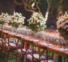 Beautiful Garden Wedding at Amanusa by AVAVI BALI WEDDINGS