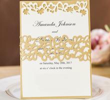 White Gold Lasercut  by Memoir card