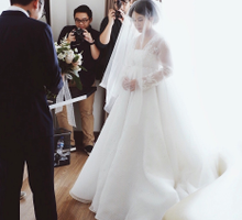 Maria Karina & William Gozali Holy Matrimony by Wong Hang Distinguished Tailor