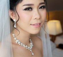 Wedding of Angel n Rinto by deZee Makeup and Wedding service