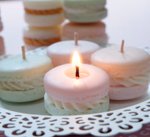 Macaron Candles by Scent and Light