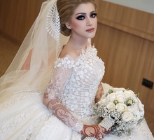 Wedding Hanun & Yusuf by Imel Vilentcia Make Up Artist