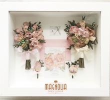 Magnolia Classic 2 Handbouquet wedding arrangement by Magnolia Dried Flower