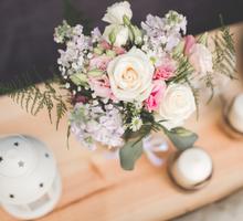 Pastel Prewedding Photoshoot by Liz Florals