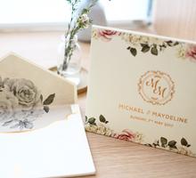 Floral Vintage Rustic by Memoir card
