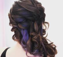Sweet hair style by PonnieHsu Makeup Studio
