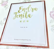 SHC - ENDRU & FENITA by INSANcard