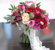 Lisa's Wedding by glasshouse FLORIST