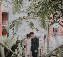 Gabriel and Kerri by Lewin Terrace